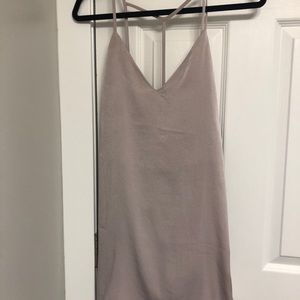 Light gray dress